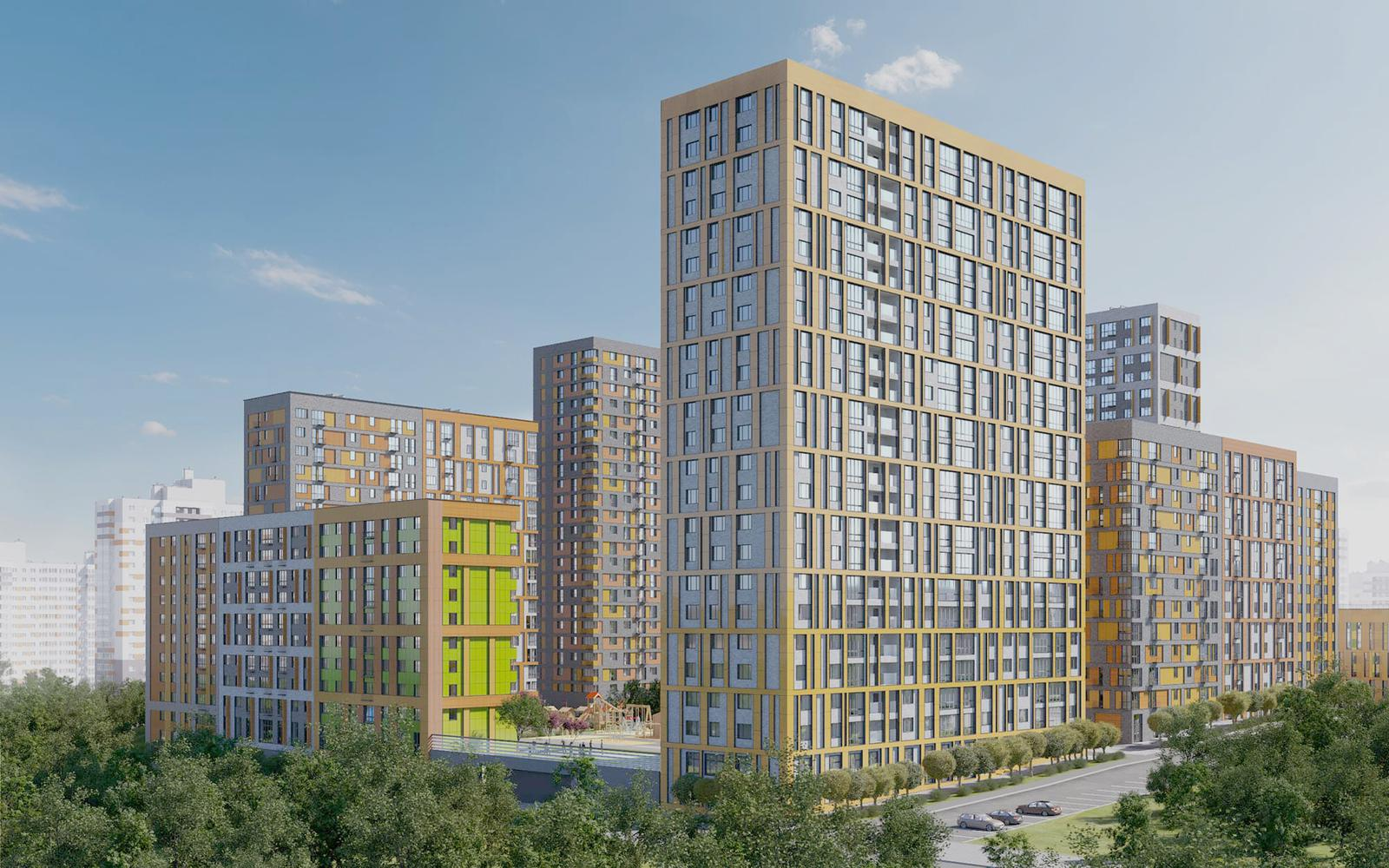 Продаётся 2-комнатная квартира в новостройке 63.8 кв.м. этаж 12/23 за 12 978 247 руб