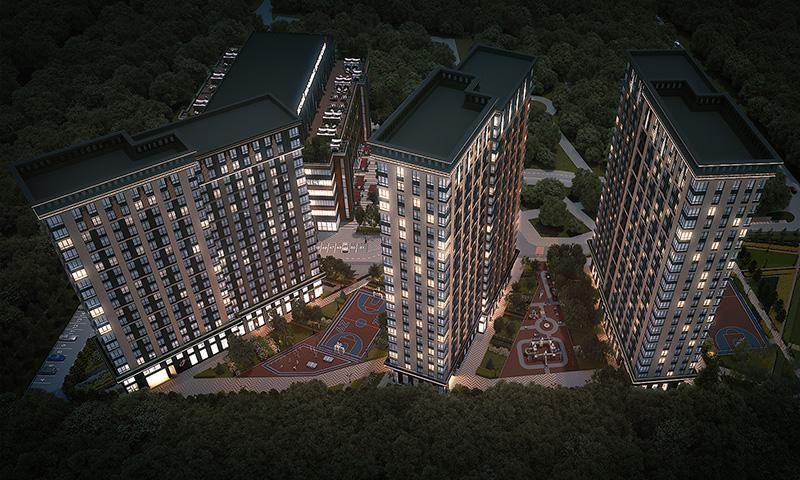 Продаётся 1-комнатная квартира в новостройке 26.9 кв.м. этаж 19/21 за 10 810 000 руб