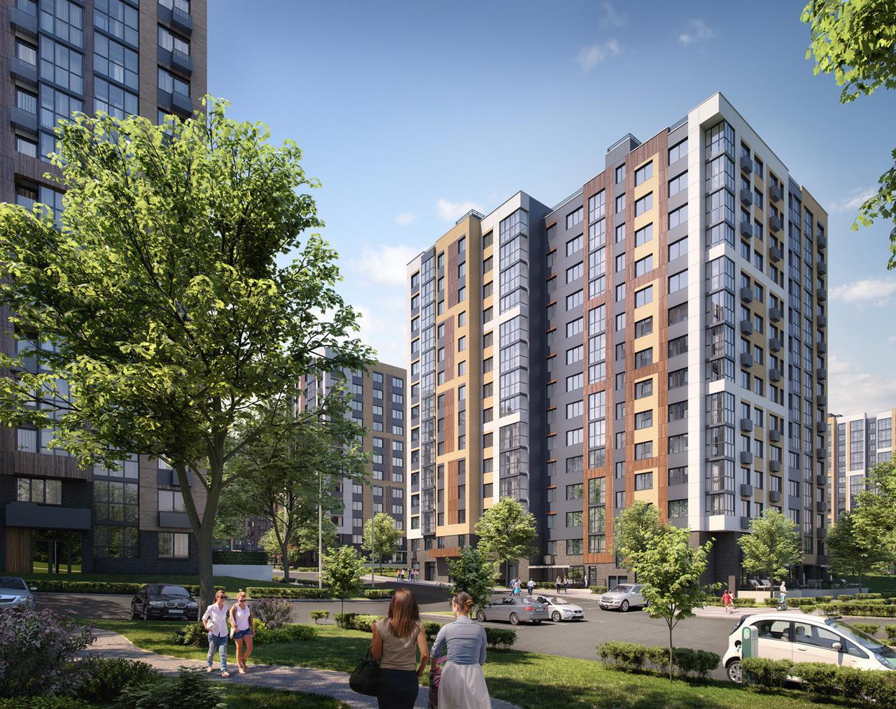 Продаётся 3-комнатная квартира в новостройке 77.3 кв.м. этаж 1/14 за 14 764 300 руб