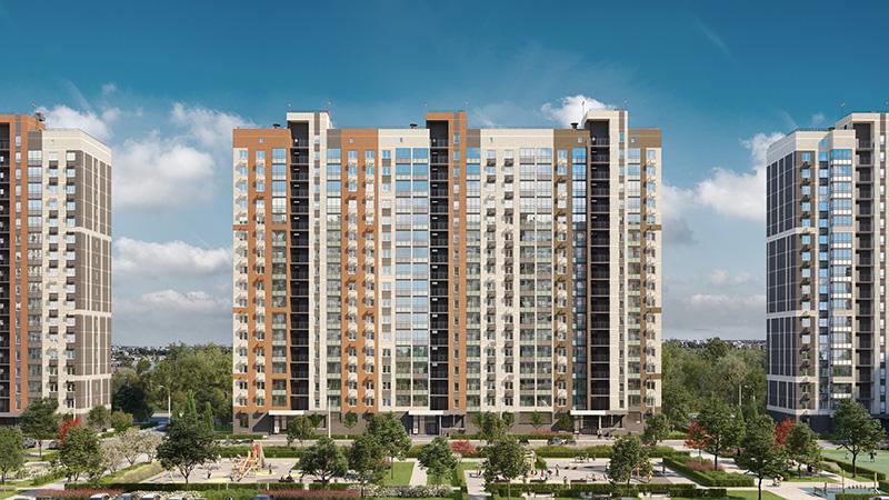 Продаётся 1-комнатная квартира в новостройке 34.1 кв.м. этаж 13/17 за 4 464 966 руб