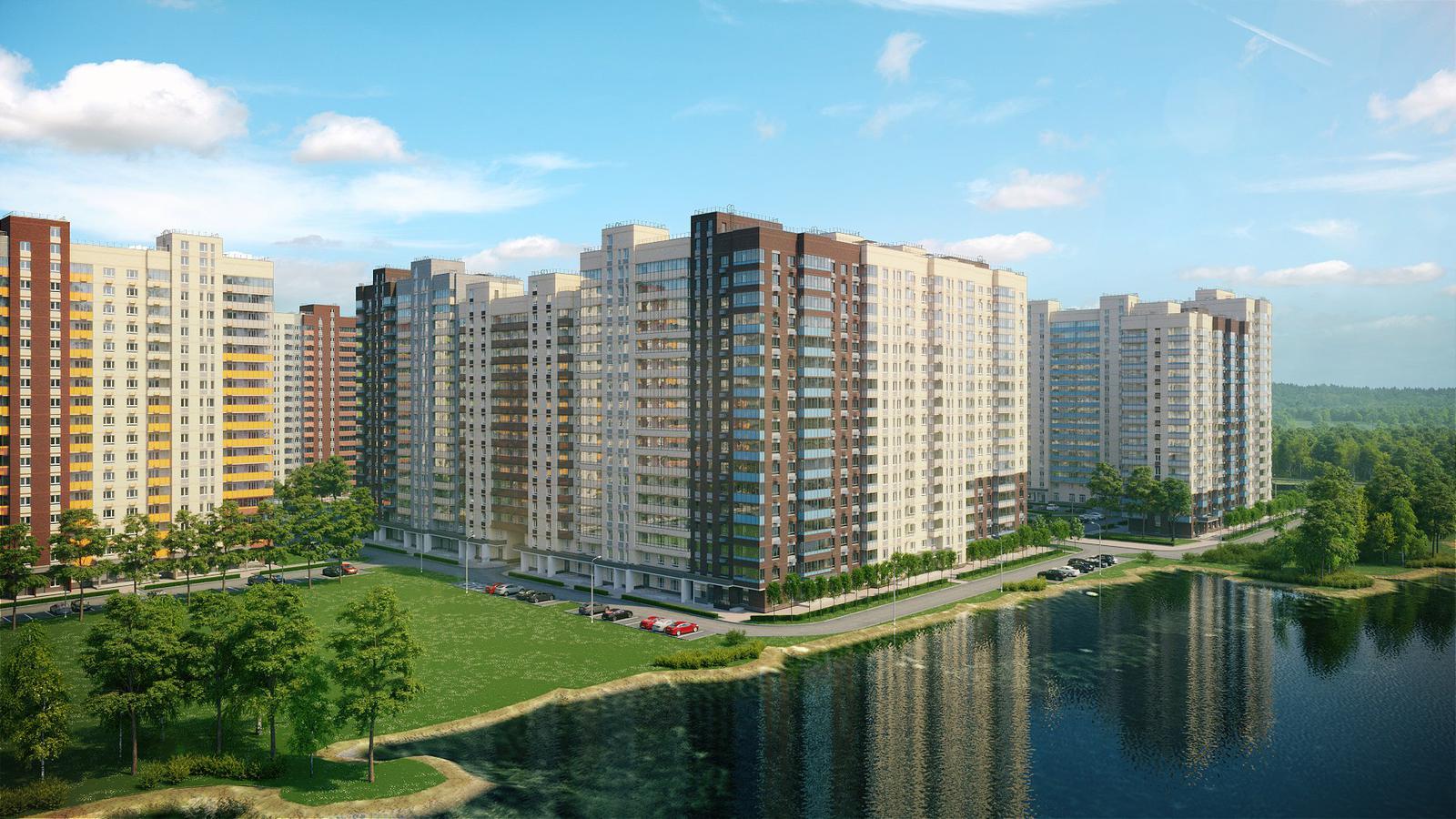 Продаётся 2-комнатная квартира в новостройке 39.3 кв.м. этаж 8/17 за 6 000 992 руб