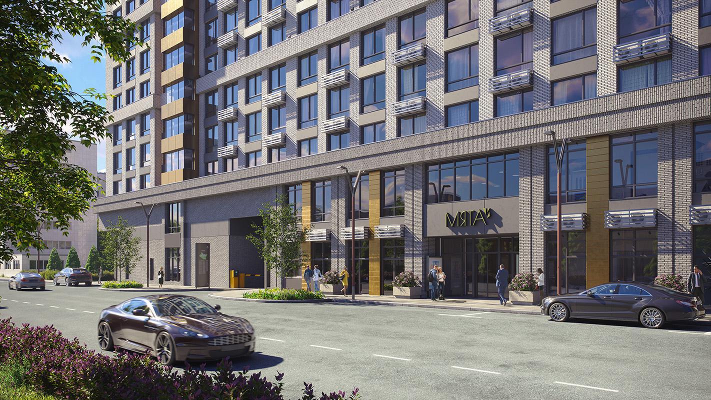 Продаётся 1-комнатная квартира в новостройке 33.7 кв.м. этаж 7/22 за 8 800 755 руб