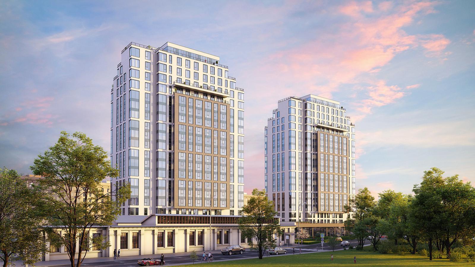 Продаётся 2-комнатная квартира в новостройке 57.0 кв.м. этаж 12/20 за 21 928 639 руб