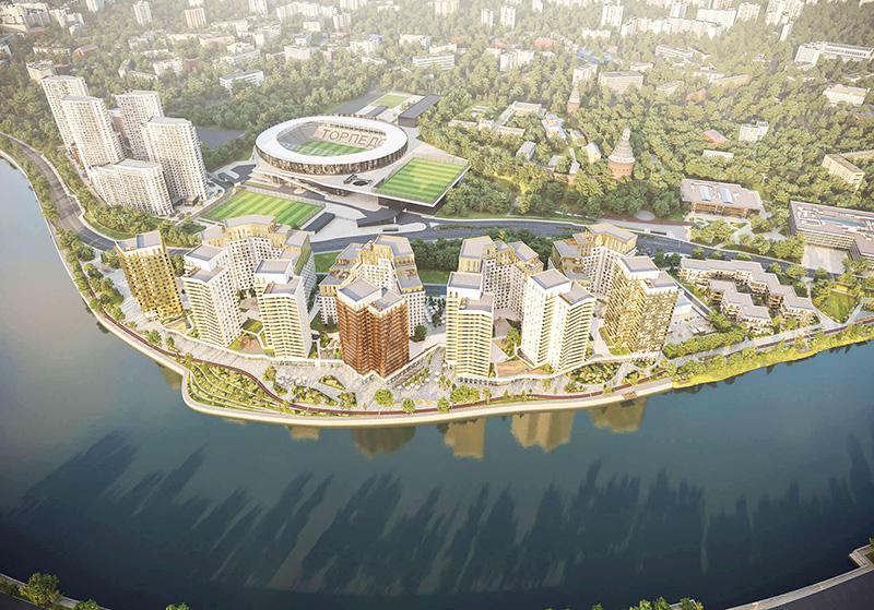 Продаётся 4-комнатная квартира в новостройке 137.7 кв.м. этаж 3/16 за 41 763 182 руб