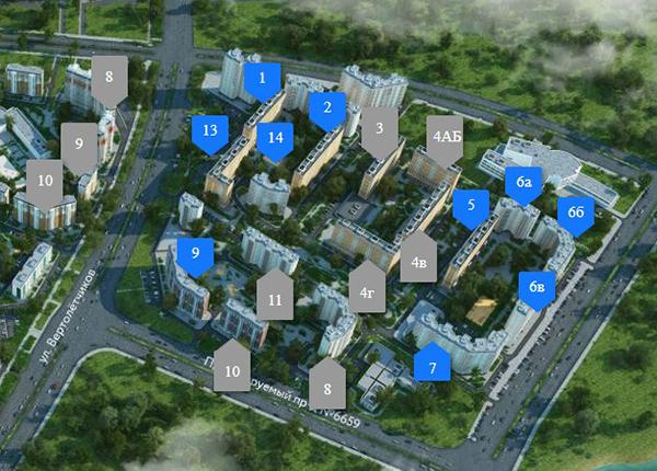 Продаётся 1-комнатная квартира в новостройке 32.8 кв.м. этаж 14/17 за 4 596 920 руб