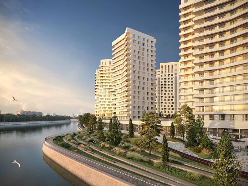 Продаётся 3-комнатная квартира в новостройке 76.2 кв.м. этаж 4/19 за 29 414 110 руб