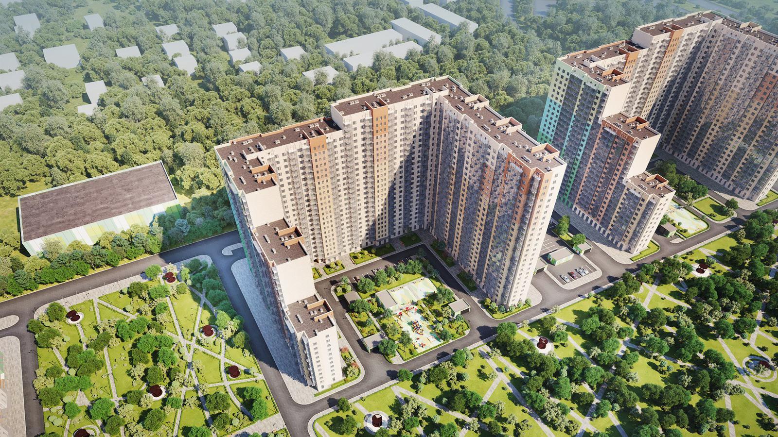 Продаётся 3-комнатная квартира в новостройке 72.1 кв.м. этаж 2/25 за 0 руб