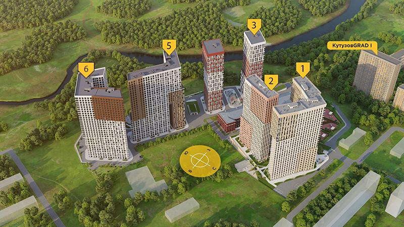 Продаётся 3-комнатная квартира в новостройке 68.3 кв.м. этаж 19/30 за 18 543 739 руб