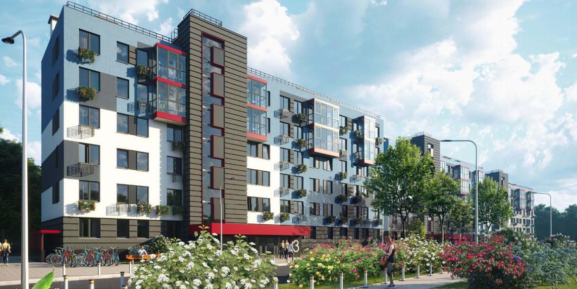 Продаётся 2-комнатная квартира в новостройке 44.9 кв.м. этаж 4/6 за 6 600 300 руб