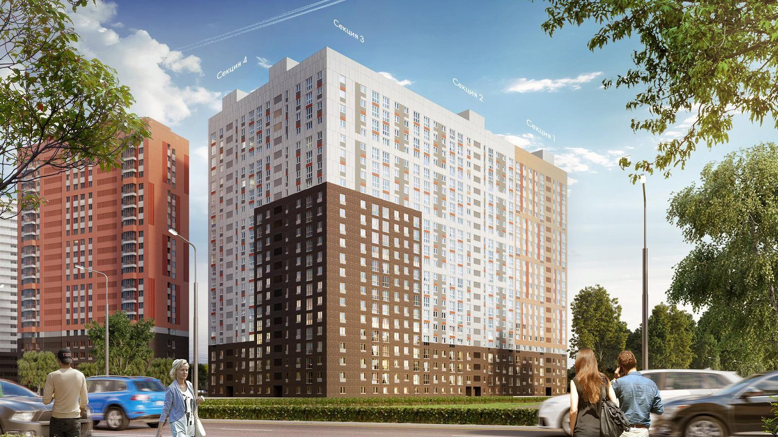 Продаётся 3-комнатная квартира в новостройке 75.1 кв.м. этаж 2/22 за 6 315 910 руб