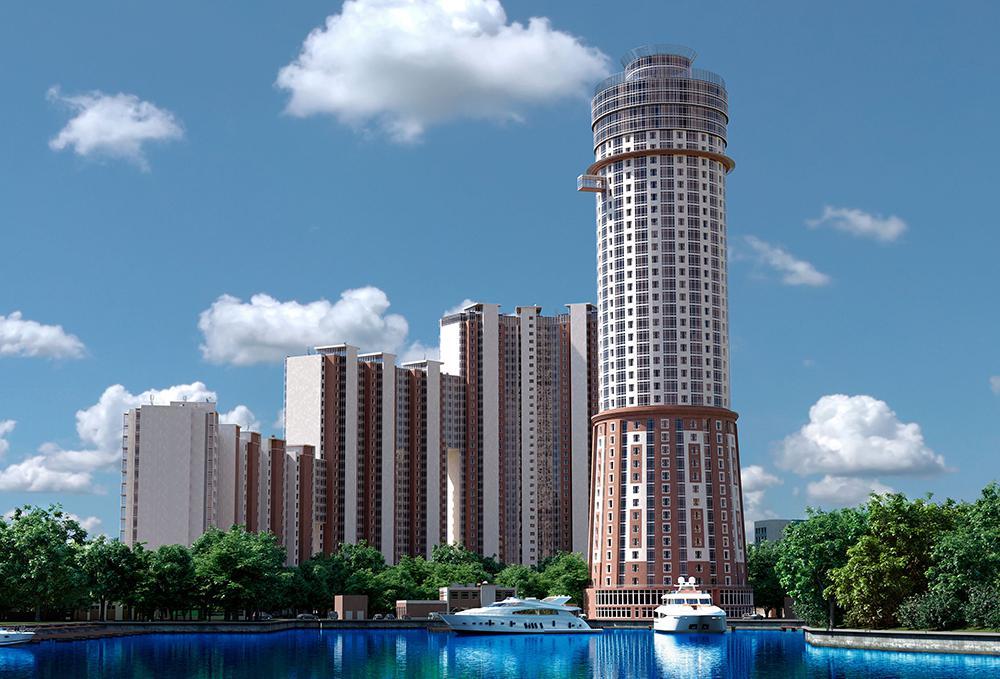 Продаётся 2-комнатная квартира в новостройке 97.2 кв.м. этаж 9/40 за 12 044 499 руб
