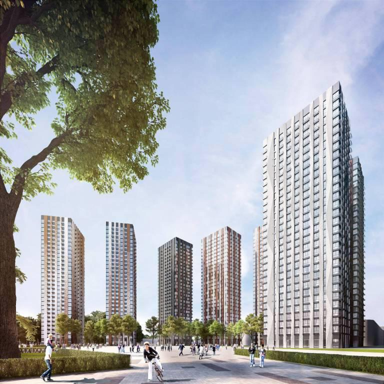 Продаётся 1-комнатная квартира в новостройке 49.5 кв.м. этаж 25/30 за 15 988 500 руб