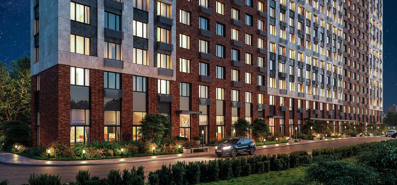 Продаётся 1-комнатная квартира в новостройке 46.6 кв.м. этаж 6/27 за 7 527 113 руб