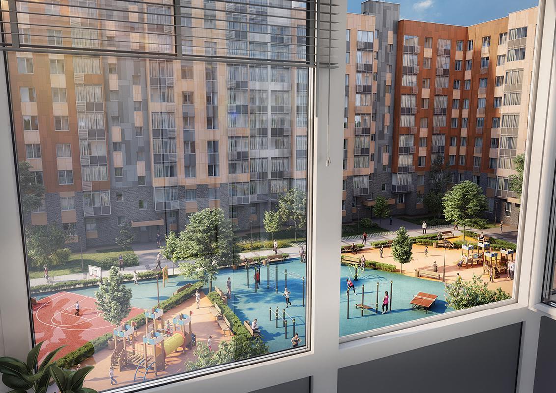 Продаётся 1-комнатная квартира в новостройке 32.9 кв.м. этаж 16/17 за 6 843 534 руб