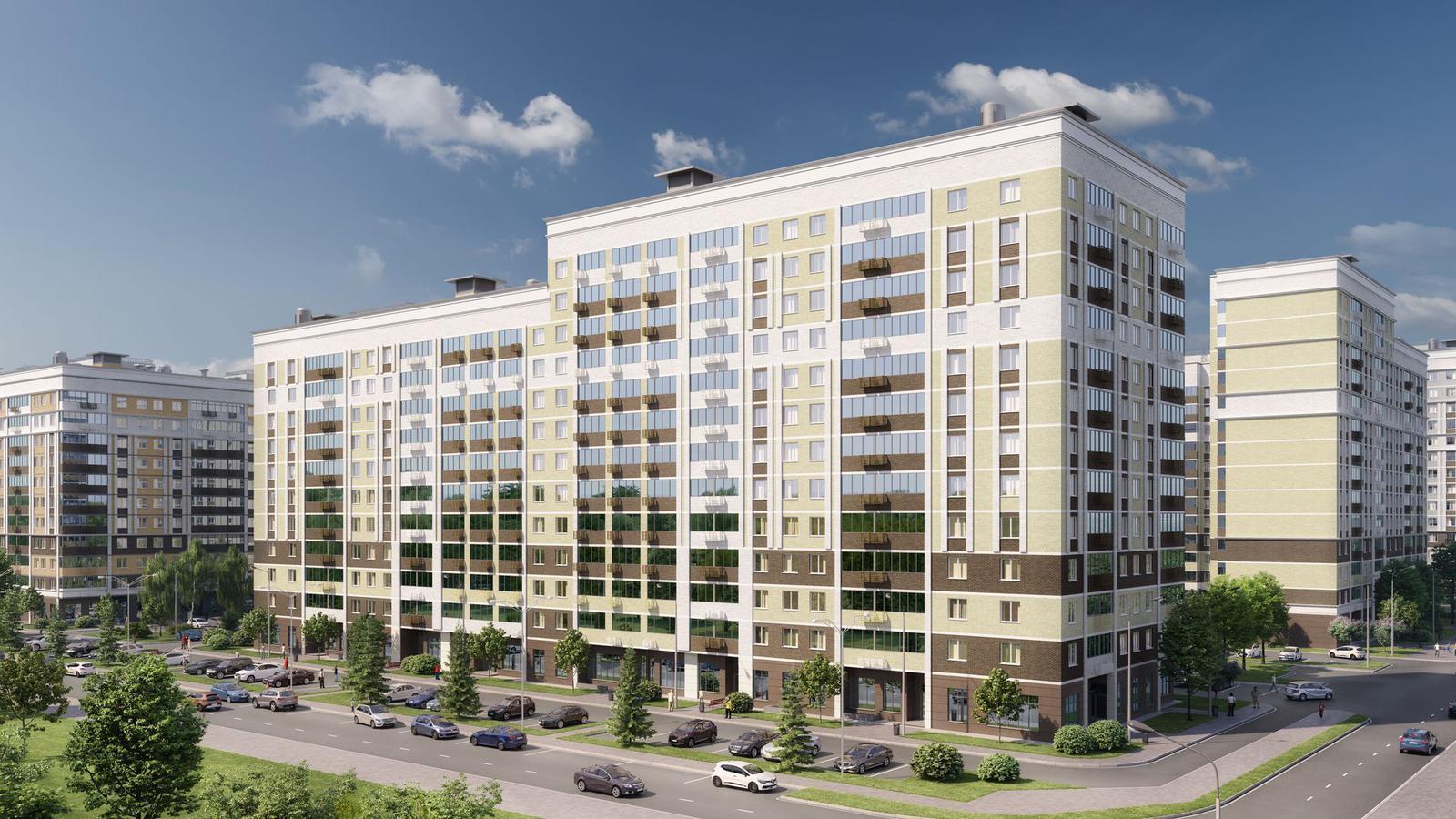 Продаётся 1-комнатная квартира в новостройке 24.4 кв.м. этаж 13/13 за 5 380 239 руб