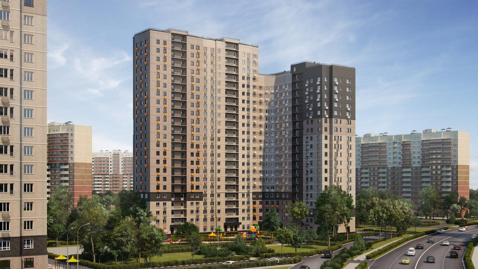 Продаётся 1-комнатная квартира в новостройке 37.4 кв.м. этаж 16/23 за 5 968 853 руб