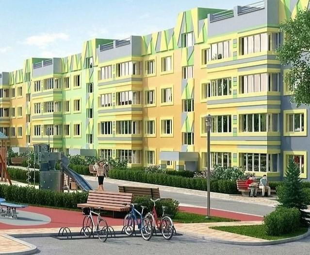 Продаётся 1-комнатная квартира в новостройке 42.7 кв.м. этаж 2/4 за 4 778 130 руб