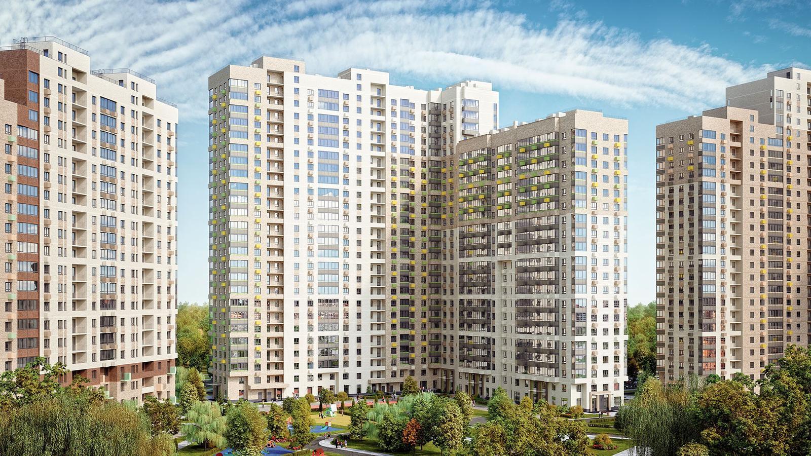 Продаётся 1-комнатная квартира в новостройке 27.9 кв.м. этаж 4/25 за 5 744 833 руб