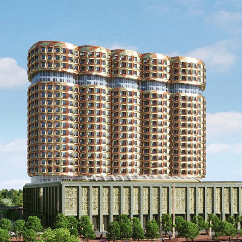 Продаётся 3-комнатная квартира в новостройке 97.9 кв.м. этаж 9/22 за 37 480 380 руб