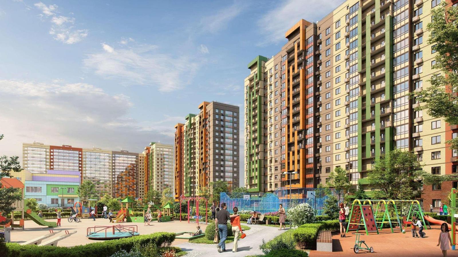 Продаётся 1-комнатная квартира в новостройке 37.2 кв.м. этаж 16/17 за 4 088 429 руб