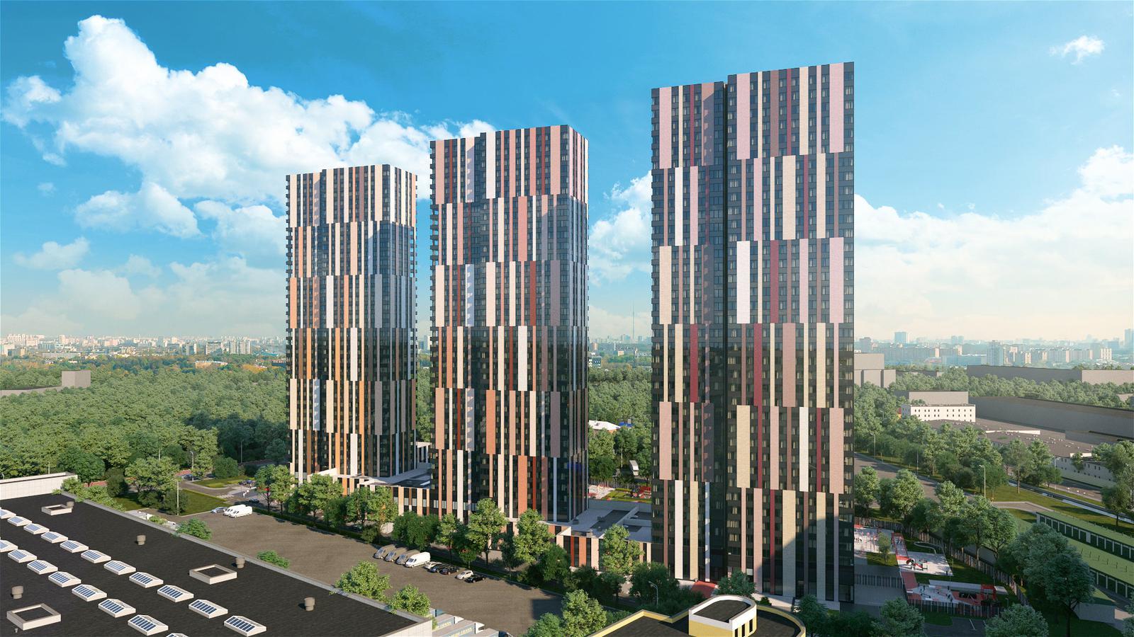 Продаётся 2-комнатная квартира в новостройке 66.5 кв.м. этаж 9/36 за 14 317 450 руб