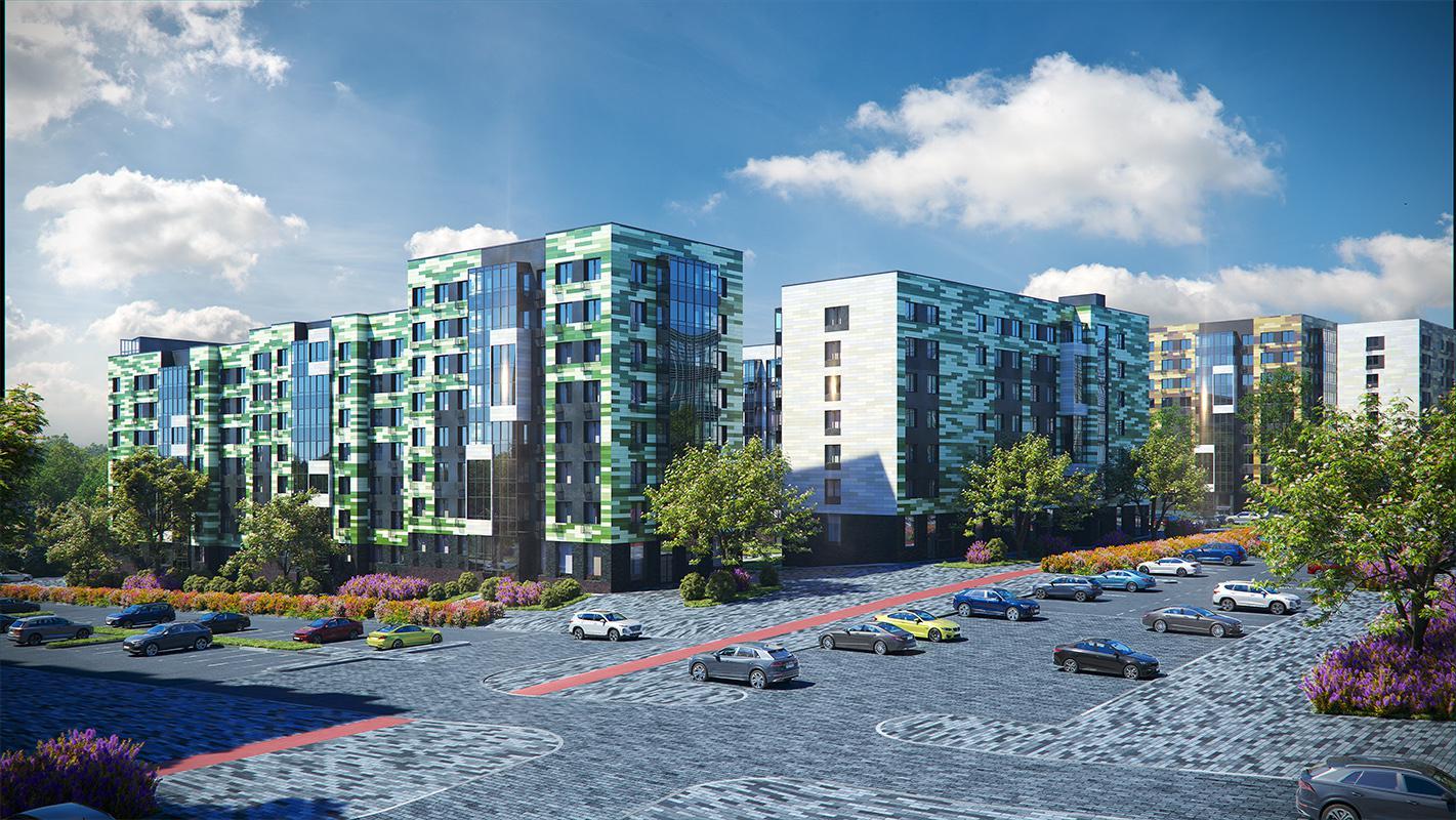 Продаётся 1-комнатная квартира в новостройке 37.6 кв.м. этаж 2/8 за 5 186 419 руб