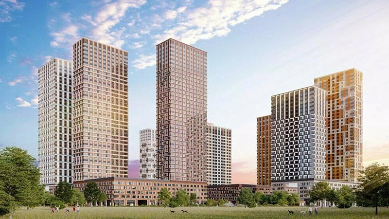 Продаётся 2-комнатная квартира в новостройке 60.3 кв.м. этаж 6/39 за 13 224 719 руб
