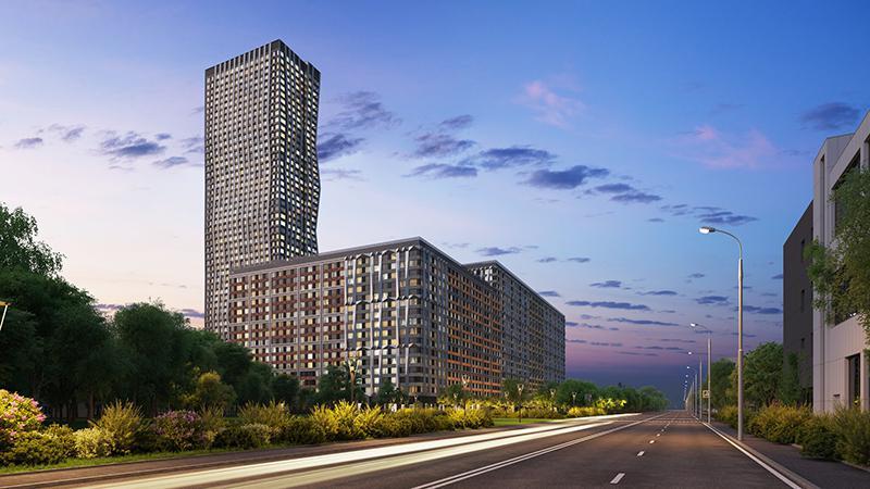 Продаётся 1-комнатная квартира в новостройке 85.2 кв.м. этаж 3/7 за 13 444 560 руб
