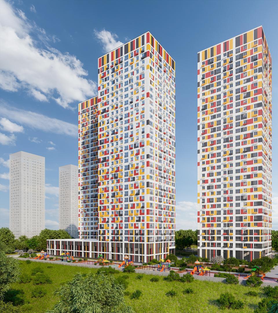 Продаётся 1-комнатная квартира в новостройке 37.7 кв.м. этаж 4/32 за 9 190 619 руб