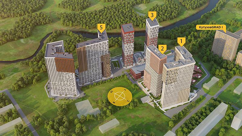 Продаётся 2-комнатная квартира в новостройке 48.6 кв.м. этаж 22/29 за 11 517 731 руб