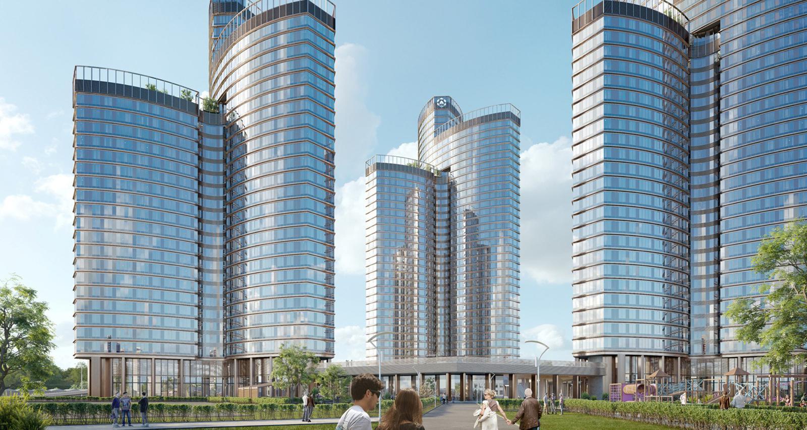 Продаётся 1-комнатная квартира в новостройке 59.1 кв.м. этаж 29/39 за 17 617 426 руб