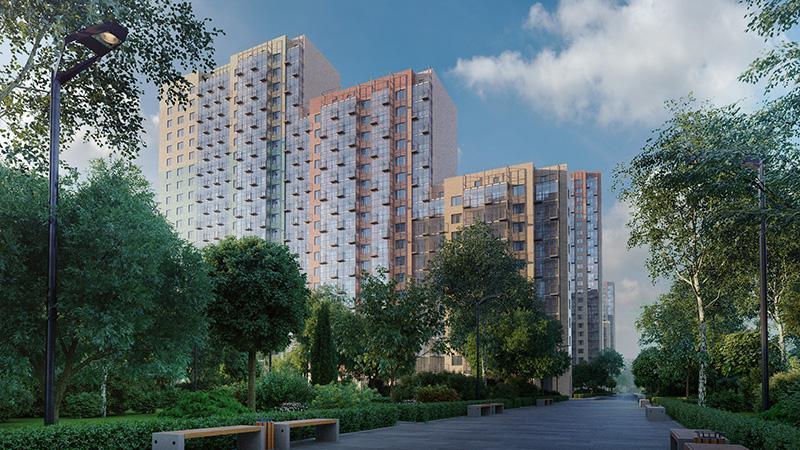 Продаётся 3-комнатная квартира в новостройке 73.4 кв.м. этаж 17/25 за 10 658 511 руб