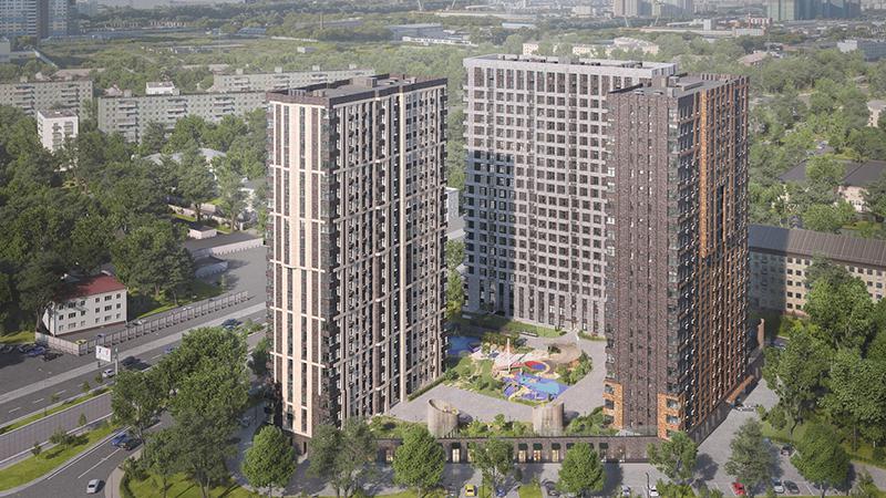 Продаётся  квартира-студия 76.6 кв.м. этаж 3/21 за 16 783 060 руб