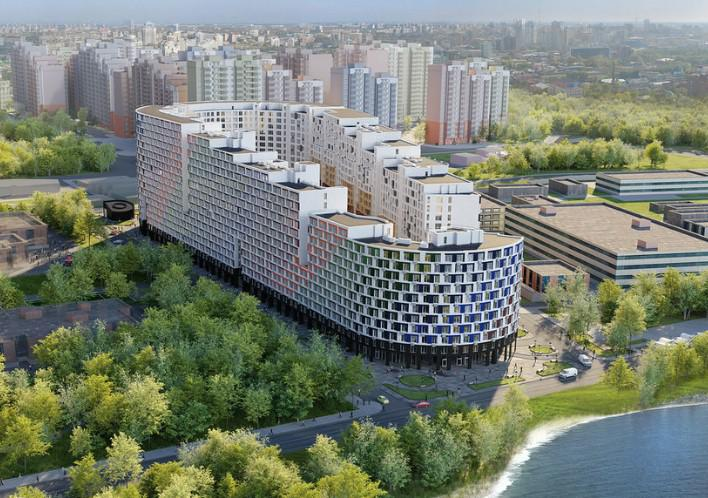 Продаётся 1-комнатная квартира в новостройке 46.5 кв.м. этаж 10/17 за 5 115 000 руб