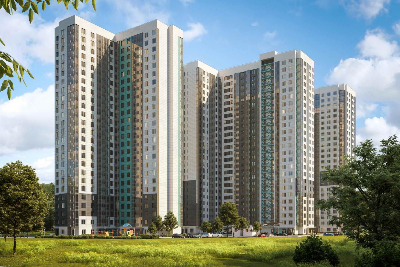 Продаётся 1-комнатная квартира в новостройке 37.6 кв.м. этаж 9/21 за 4 493 077 руб