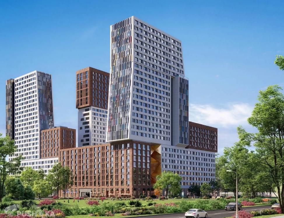 Продаётся 3-комнатная квартира в новостройке 88.0 кв.м. этаж 15/27 за 27 400 000 руб