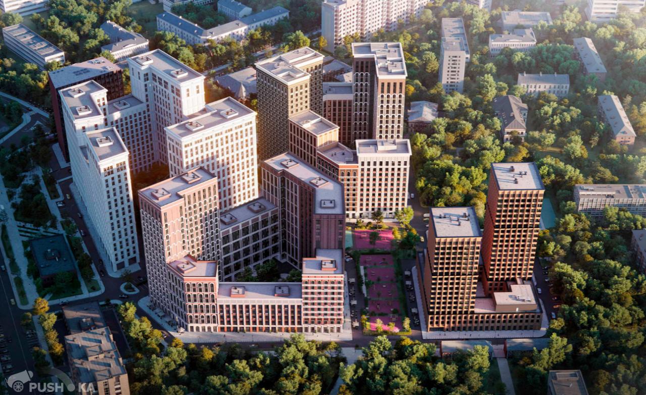 Продаётся 1-комнатная квартира в новостройке 44.0 кв.м. этаж 7/20 за 13 100 000 руб