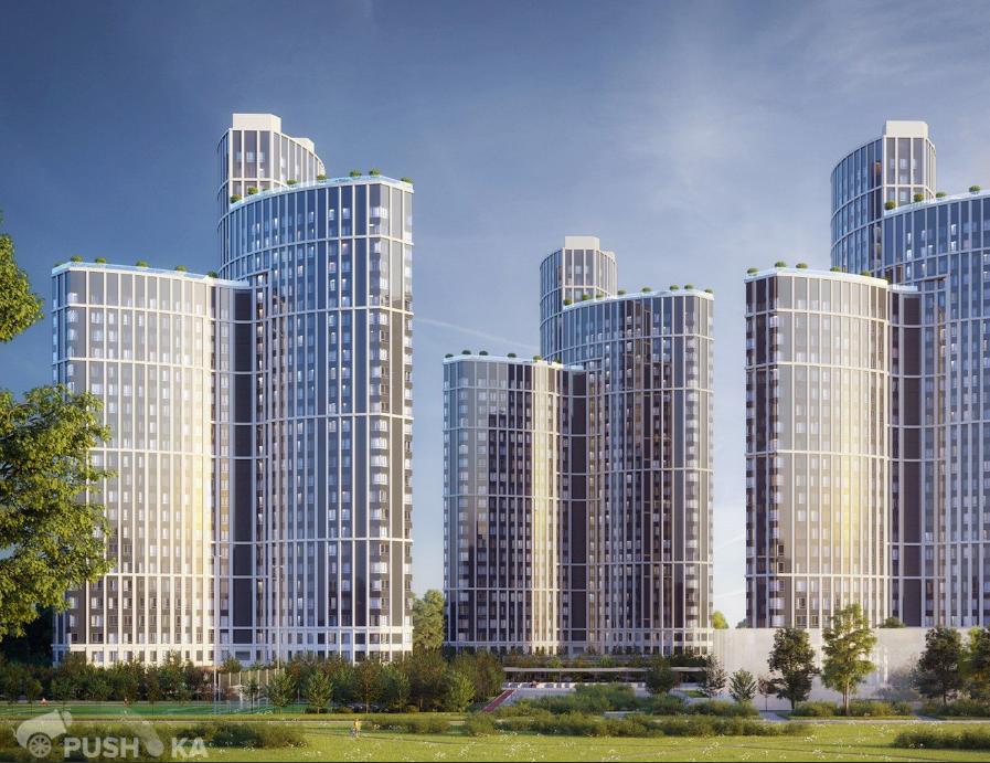 Продаётся 4-комнатная квартира в новостройке 106.0 кв.м. этаж 10/32 за 28 200 000 руб
