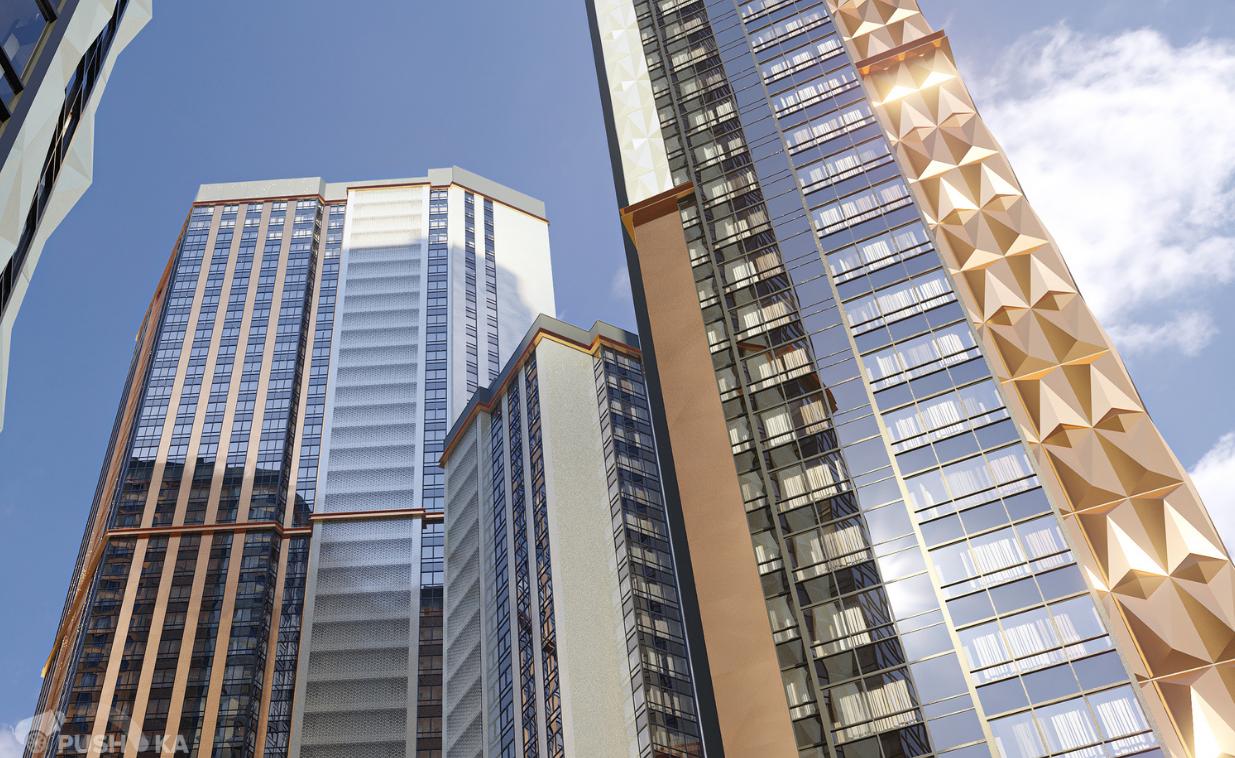 Продаётся 3-комнатная квартира в новостройке 73.0 кв.м. этаж 10/47 за 22 600 000 руб