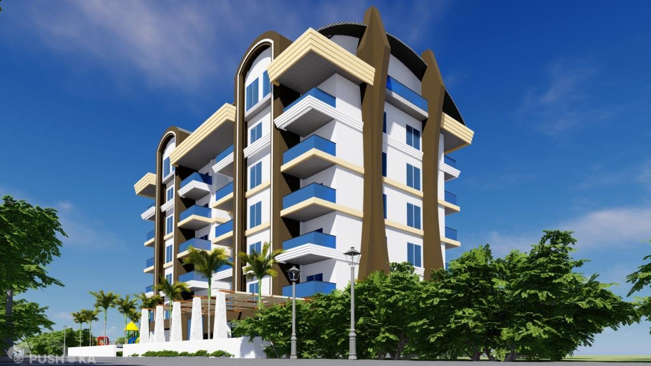 Продаётся 1-комнатная квартира в новостройке 56.0 кв.м. этаж 1/10 за 35 000 EUR