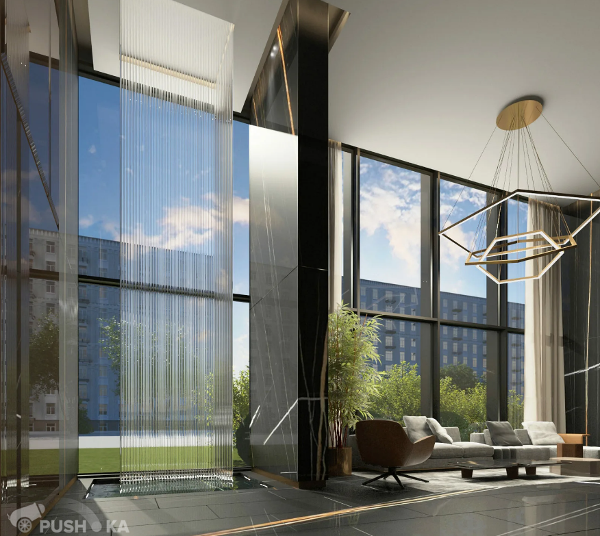 Продаётся 3-комнатная квартира в новостройке 133.0 кв.м. этаж 19/20 за 57 800 000 руб