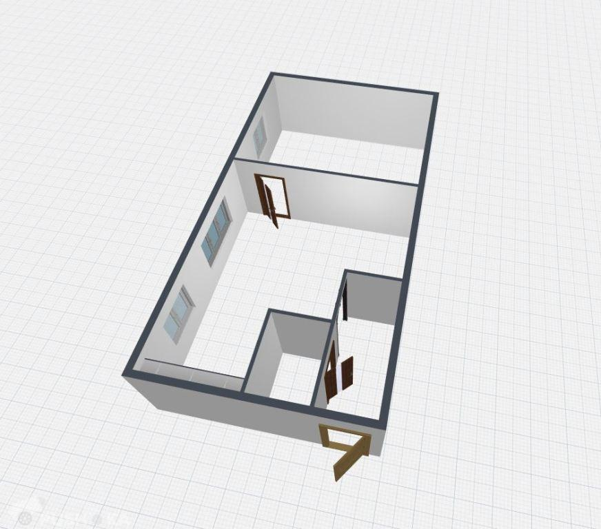 Продаётся 2-комнатная квартира 42.9 кв.м. этаж 1/5 за 1 950 000 руб
