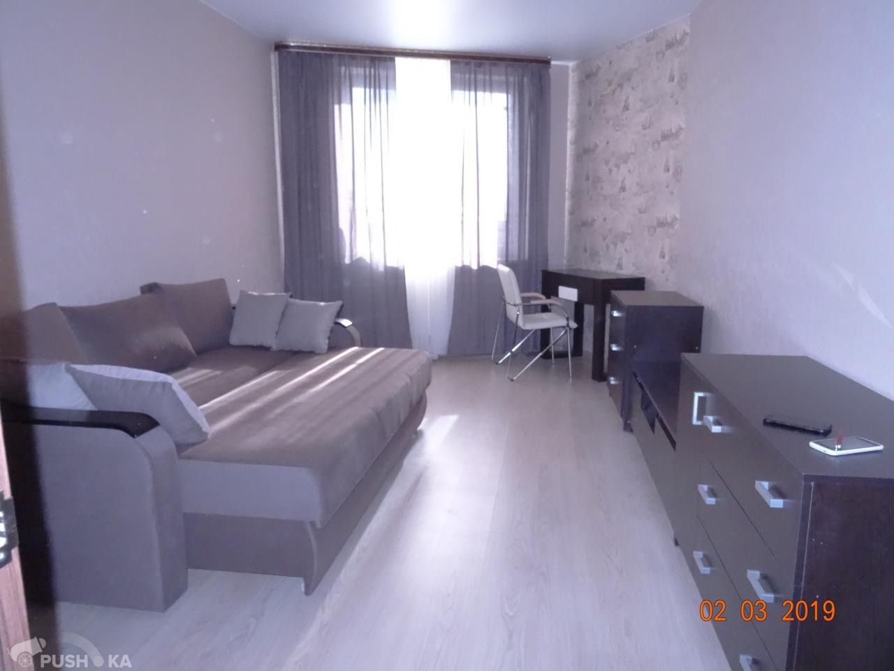 Сдаётся 1-комнатная квартира 40.5 кв.м. этаж 11/17 за 29 000 руб