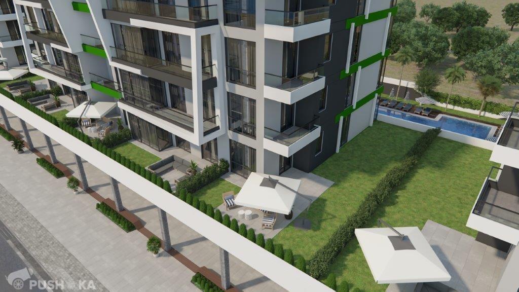 Продаётся 1-комнатная квартира в новостройке 50.0 кв.м. этаж 1/10 за 70 000 EUR
