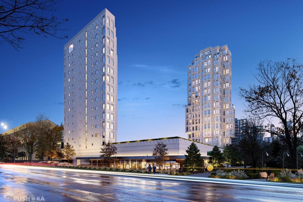 Продаётся 4-комнатная квартира в новостройке 216.0 кв.м. этаж 16/18 за 232 700 000 руб
