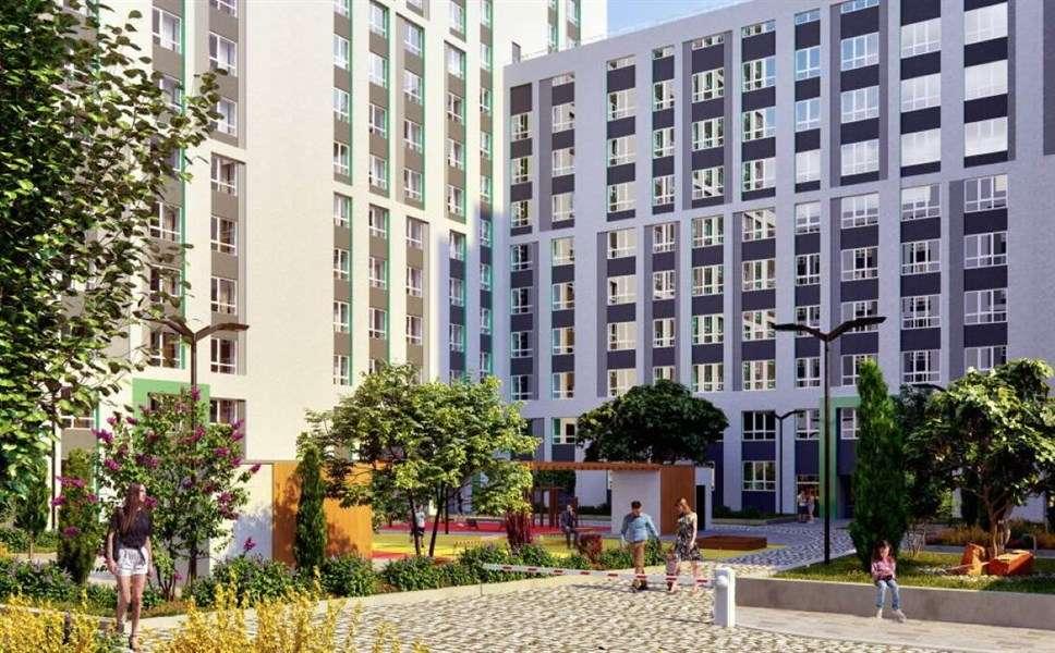 Продаётся 1-комнатная квартира в новостройке 44.6 кв.м. этаж 7/19 за 4 668 418 руб