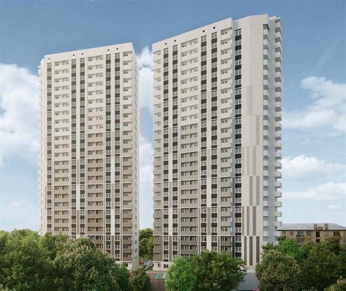 Продаётся 1-комнатная квартира в новостройке 36.6 кв.м. этаж 25/25 за 2 490 000 руб