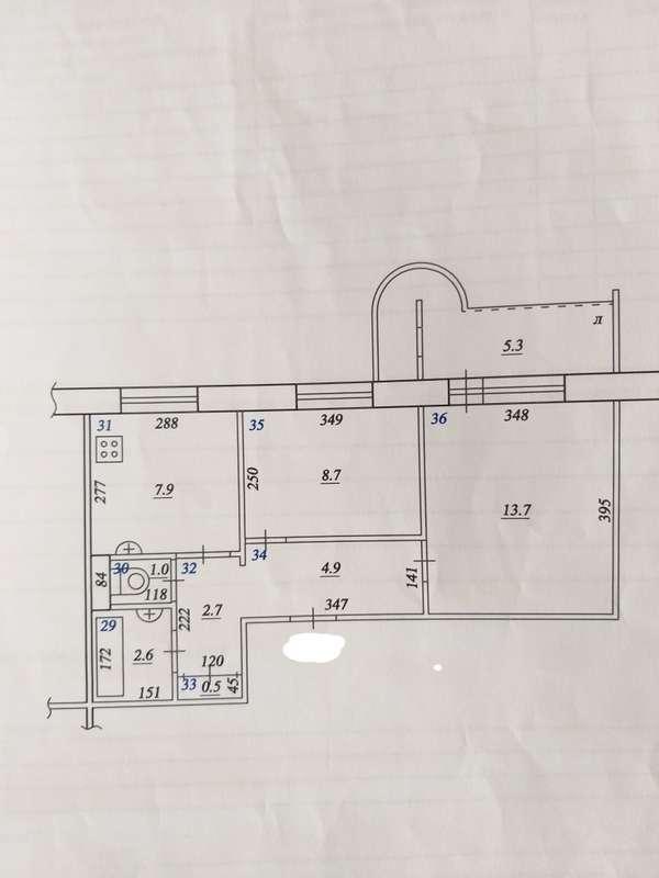 Продаётся 2-комнатная квартира 44.7 кв.м. этаж 3/9 за 3 290 000 руб