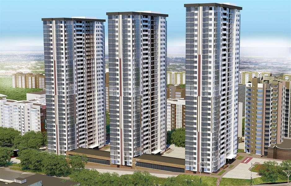 Продаётся 3-комнатная квартира в новостройке 99.1 кв.м. этаж 6/31 за 4 658 170 руб