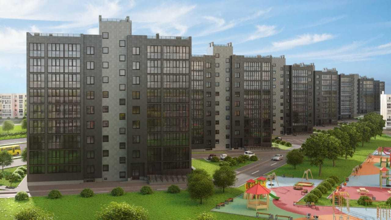 Продаётся 2-комнатная квартира в новостройке 69.9 кв.м. этаж 6/9 за 3 042 000 руб